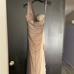 Multicolored gown/dress
